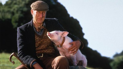 'Babe' Is Now 20-Years-Old, and So Is Star James Cromwell's Animal Rights Crusade