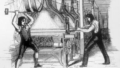 Een korte geschiedenis van mensen die robots in elkaar rammen