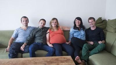 Estes cinco amigos vão ter um bebé