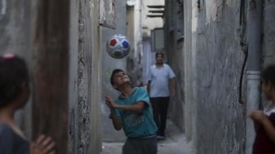 Voor het eerst in vijftien jaar speelt een Westbank-voetbalteam een wedstrijd in Gaza