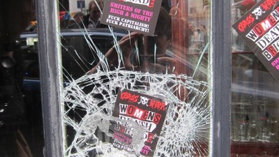 Anarchists Smashed the Windows of East London's Crappy New Jack the Ripper Museum
