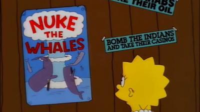 Todos os cartazes que vemos nos Simpsons estão reunidos num blog