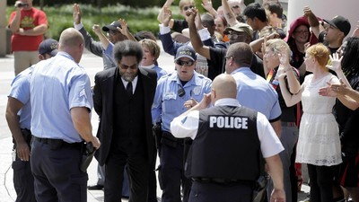 Cornel West, DeRay Mckesson, and Others Arrested as Emergency Declared in Ferguson