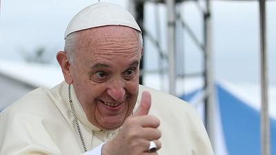 Deze Gentse folkgroep trad op voor tienduizend misdienaars en de paus