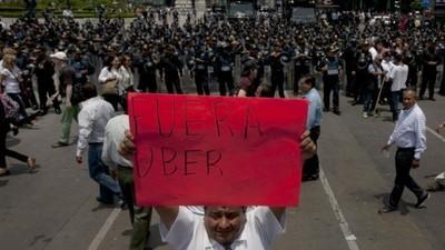 In Mexico worden Uber-chauffeurs massaal aangevallen en ontvoerd