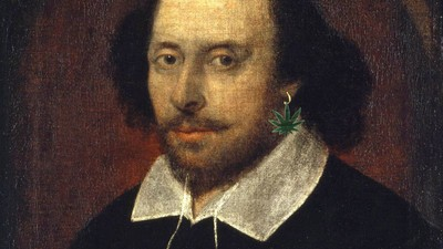 Some Professor Thinks He's Proven That Shakespeare Was a Stoner
