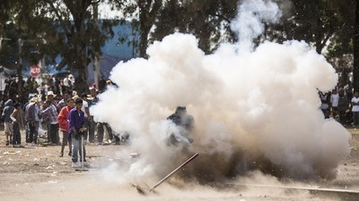 Watch This Mexican Town Celebrate Their Namesake with Fertilizer Bombs and Sledgehammers
