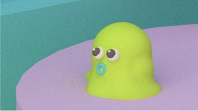 'Booger Baby' - A Comic by Julian Glander