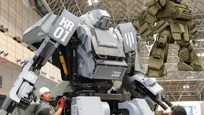 Un robot de combate japonés inspirado en un anime de los 80