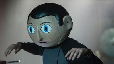 ,Frank' bringt mit Plastikschädel und liebenswerten Verhaltensstörungen nicht nur Musiker zum Lachen