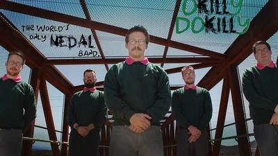 Es gibt eine Ned-Flanders-Metal-Band namens 'Okilly Dokilly'