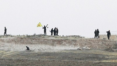 The Islamic State Is Believed to Have Used Chemical Weapons Against the Kurds