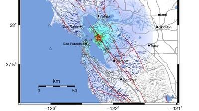 A 4.0-Magnitude Earthquake Hit San Francisco This Morning