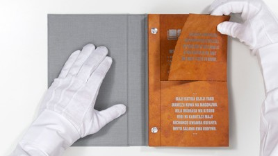 This 'Drinkable Book' Filters Water Through Its Pages
