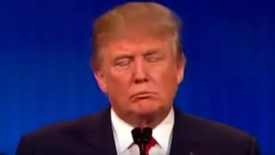 Urmărește clipul în care Donald Trump pare ultimul prăjit