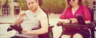 's Werelds eerste seksfeest voor invaliden was een daverend succes