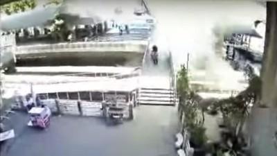 Video: Detona una segunda explosión en Bangkok mientras comienza la búsqueda del sospechoso