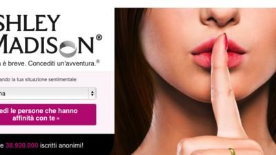 Gli hacker hanno pubblicato i dati di 37 milioni di utenti di Ashley Madison