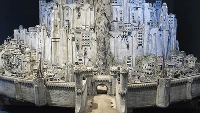 """Englische Architekten wollen Minas Tirith aus """"Herr der Ringe"""" nachbauen"""