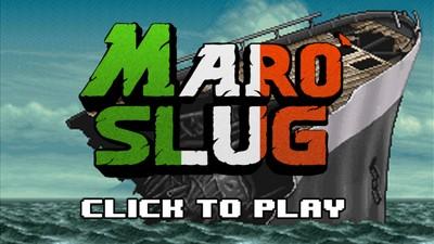 'Marò Slug' è il videogioco in cui riporti a casa i marò