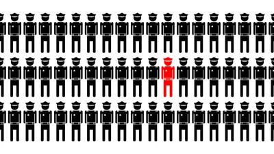Warum Polizisten so selten vor dem Richter landen