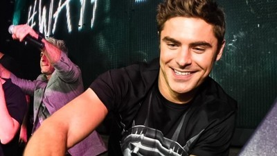 Zac Efron Says the Most Fun Part of DJing Is Pretending to Look Busy