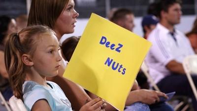 'Deez Nuts', ein 15-Jähriger, macht sich im Rennen um die Präsidentschaftskandidatur überraschend gut