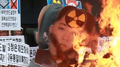 Nordkorea ist in Kampfbereitschaft