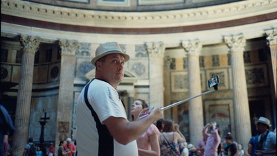 The Unholy Selfie Sticks of Rome