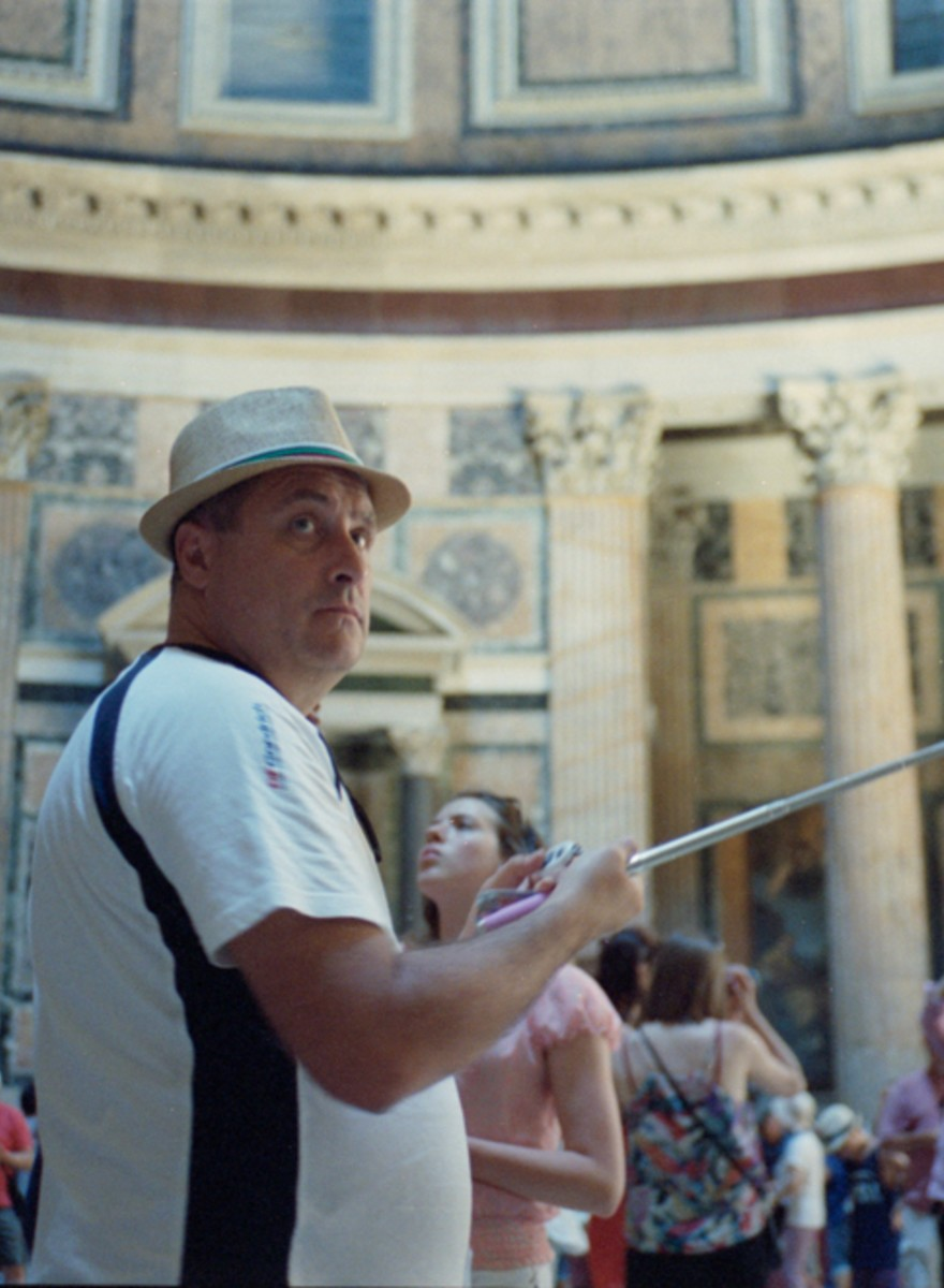 The Selfie Sticks of Rome