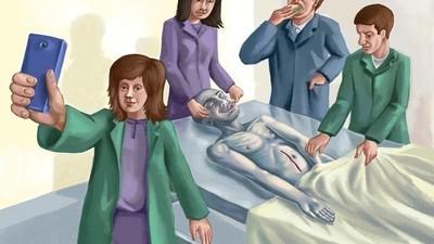 Lo que hacen los estudiantes de medicina con los muertos