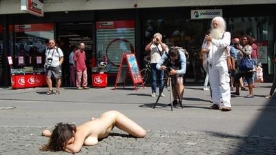So war das Bieler Nacktfestival