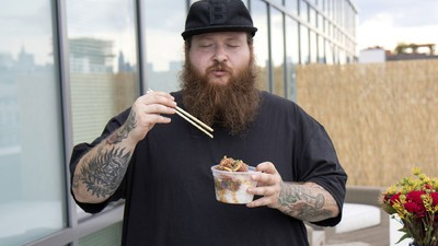 Action Bronson Makes Vegan Poke on His Hawaiian Getaway