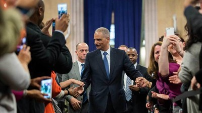 How Eric Holder's Corporate Law Firm Is Turning Into a 'Shadow Justice Department'
