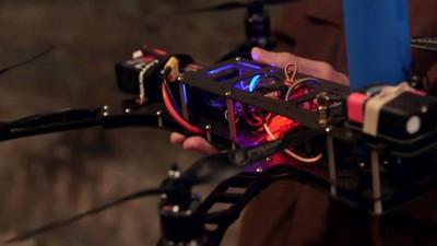 Le combat de drones