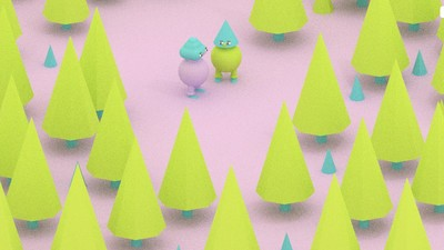 Two Ladies Get Lost in the Woods in a New Comic by Julian Glander