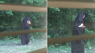 Police Are Looking for a Scary Cloaked Guy Allegedly Scattering Meat Near a North Carolina Playground