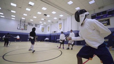 An Olympic Medalist Is Teaching Kids in Harlem to Fence