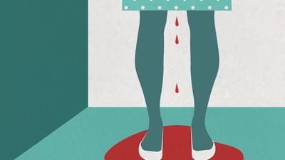 Als menstrueren bijna je dood betekent