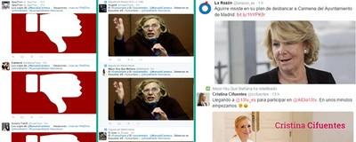 Las cuentas falsas del PP en Twitter hoy se han vuelto locas