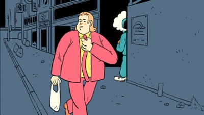 Michael Gets Mugged in This Week's Comic from Stephen Maurice Graham