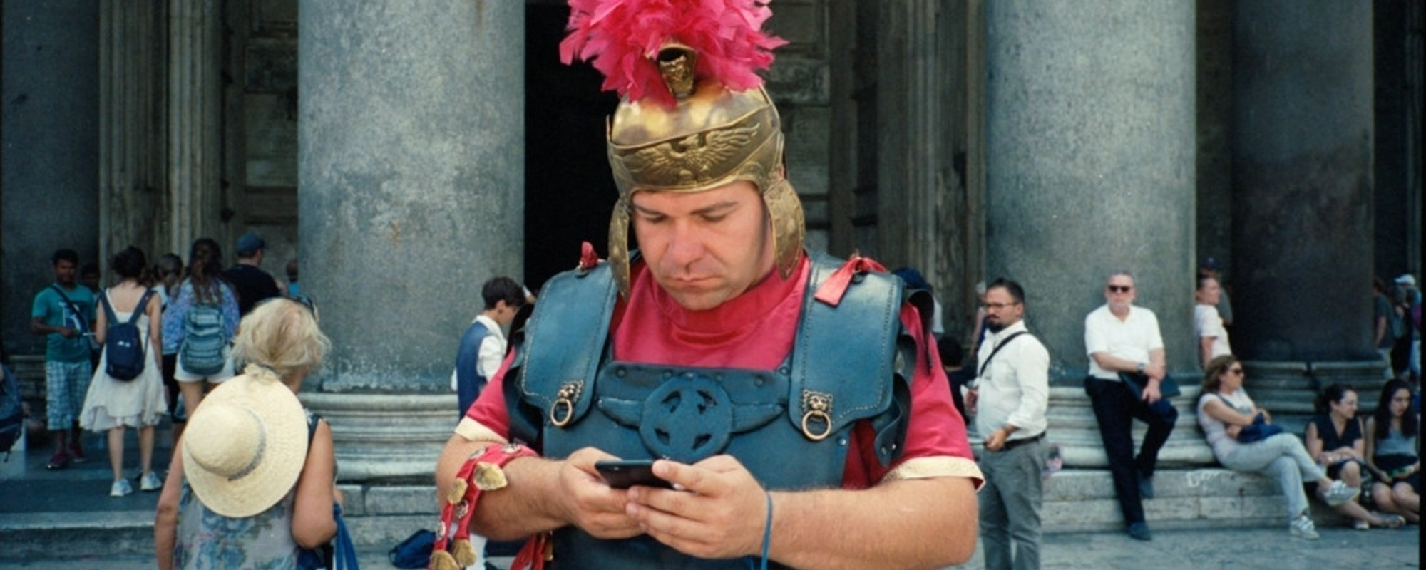 Os Profanos Paus de Selfie de Roma