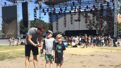 This Is What It's Like to Take Your Little Kids to a Music Festival