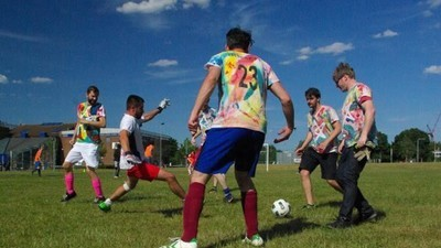 The World's Most Anarchic, Hectic Sport: Welcome to 'Three-Sided Football'