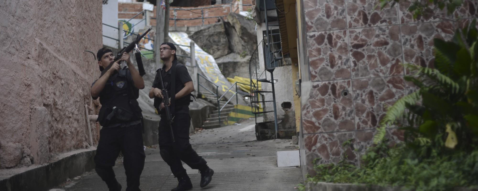 A Operação da Polícia Assustou os Moradores da Favela São José Operário