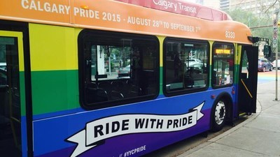 A Calgary Transit Worker Is Threatening to Quit His Job if Assigned to Drive a Pride-Themed Rainbow Bus
