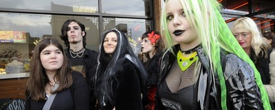 Shock News: Young Brits Are More Likely to Be Depressed if They're Goths