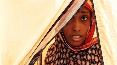 Jemenitische vluchtelingen in Djibouti
