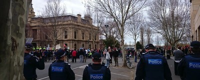An Afternoon with Australia's Bendigo Mosque Protesters