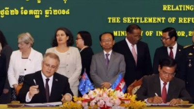 Australia's Effort to Dump Refugees on Cambodia has Backfired at a Cost of $40 Million